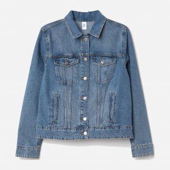 Джинсовая куртка H&M 0549333-7 Синяя