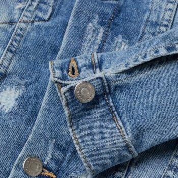 Джинсовая куртка H&M 06-0399061-033 Голубая
