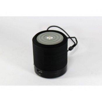 Портативная Bluetooth колонка WSTER WS-631 ФМ, MP3, USB Чёрная