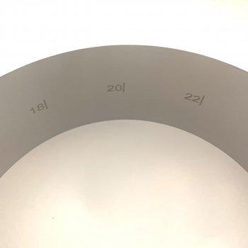 Форма для випічки розсувна A-Plus від 16 до 30 см H-8 см