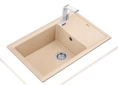 Кухонная мойка TEKA Stone 60 S-TG 1B 1D песочный 115330030