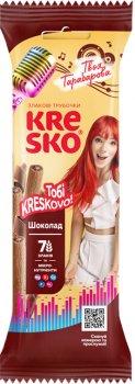 Упаковка хрустящих трубочек АВК Kresko Шоколад 40 г х 32 шт (4823105804146)