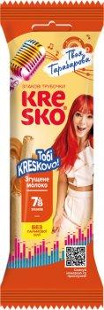 Упаковка хрустящих трубочек АВК Kresko Сгущенное молоко 40 г х 32 шт (4823105806454)