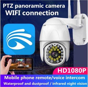 IP Wi-Fi Камера видеонаблюдения, Yoosee, Модель PTZ-LED26, Уличная, Беспроводная, Влагозащита IP66