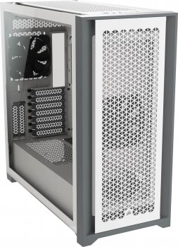 Корпус Corsair 5000D Airflow Tempered Glass White (CC-9011211-WW)