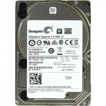 """Жорсткий диск для сервера 2.5"""" 1TB Seagate (ST1000NX0313)"""