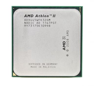Процесор AMD (AM3) Athlon II X3 445, Tray, 3x3,1 GHz (ADX445WFK32GM)