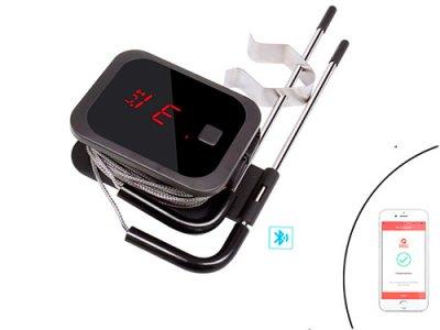 Термометр кулинарный Bluetooth для гриля INKBIRD IBT-2X +2 датчика (116337)