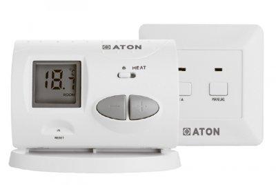 Термостат ATON Т7 WL цифровий кімнатний програмований безпровідний