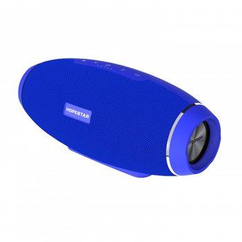 Колонка Hopestar H20 беспроводная 2*8 ВТ+15 ВТ с функцией Bluetooth + mini Jack 3,5 мм и microSD Синяя (12166)