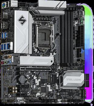 Материнська плата ASRock B560M Steel Legend (s1200, Intel B560, PCI-Ex16)