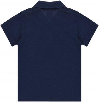 Поло H&M 97124349 Темно-синее (до 98 см)