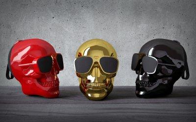 Акустика Jarre AeroSkull XS+ Glossy Red