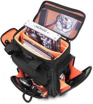 Сумка UDG Ultimate ProducerBag Large Black/Orange Inside (U9022BL/OR)