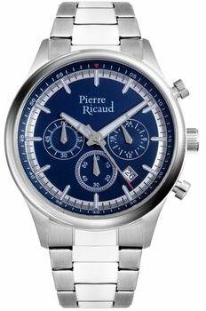 Чоловічі наручні годинники Pierre Ricaud PR 97207.5115 CH
