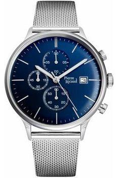 Чоловічі наручні годинники Pierre Ricaud PR 97206.5115 CH