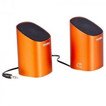 Акустика Enzatec - перезаряджається, висувний кабель, портативна / SP302 /orange/ (8607)