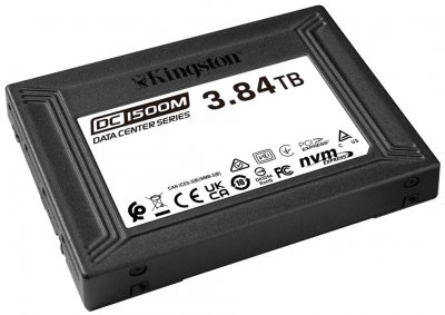 Kingston SSD DC1500M 3.84TB U.2 PCIe 3.0 x4 3D NAND (TLC) (SEDC1500M/3840G)