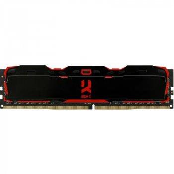 Модуль памяти для компьютера DDR4 8GB 2666 MHz IRDM Black GOODRAM (IR-X2666D464L16S/8G)