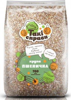 Упаковка крупы пшеничной Такі справи Полтавские 700 г х 4 шт (3983323708)