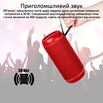 Акустична система Promate Silox-Pro 30W IPX6 Red (silox-pro.red)