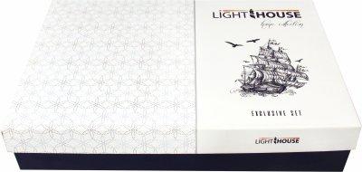 Комплект постельного белья LightHouse Exclusive Sateen Stripe Lux 200х220 (2200000550262)