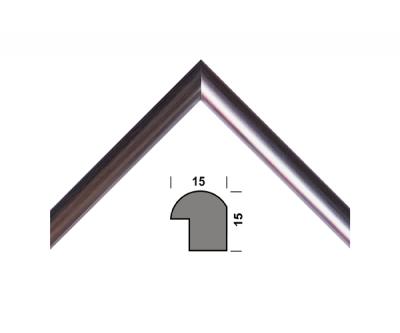 Рамка для дипломів 33.Amigos 21x30 см Срібляста (KF2130SL)