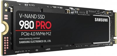Samsung 980 Pro 500GB M.2 PCIe 4.0 x4 V-NAND 3bit MLC (MZ-V8P500BW)