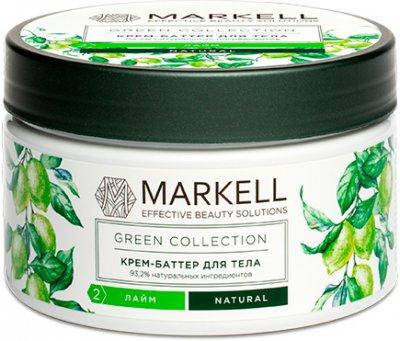 Крем-батер для тіла Markell GreenCollection Лайм 250 мл (4810304017439)