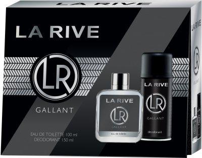 Мужской подарочный набор La Rive Gallant Туалетная вода 100 мл + Дезодорант 150 мл (5901832067757)