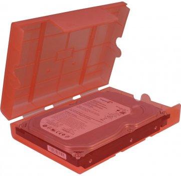 """Зовнішня кишеня Argus для SSD/HDD 2.5""""/3.5"""" (88885393) Red"""