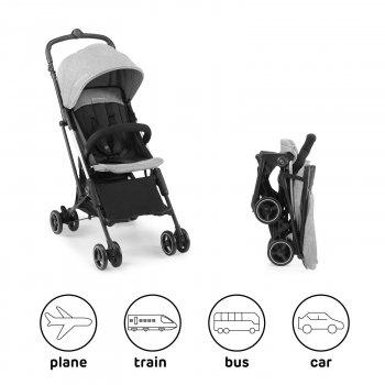 Прогулочная коляска Kinderkraft Mini Dot Grey (158715)