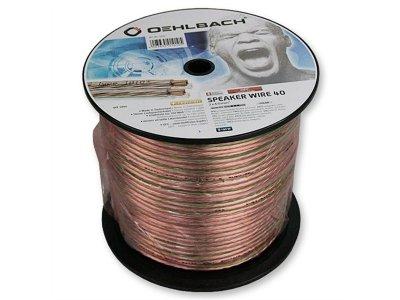 Акустичний кабель 2х4,0 мм2 Oehlbach Speaker Wire 40