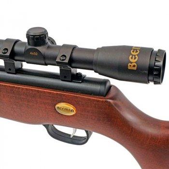 Гвинтівка пневматична з оптичним прицілом Beeman Teton (4x32, 4.5 мм), газова пружина