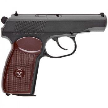 Пістолет пневматичний SAS Макаров SE ПМ (4,5 мм), пластик