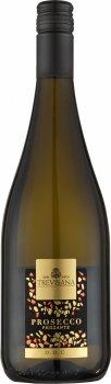 Вино ігристе Trevisana Prosecco Frizzante DOC біле екстрасухе 0.75 л 11% (8003030877057)