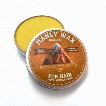 Чоловічий віск для волосся «original», MANLY, 100 мл