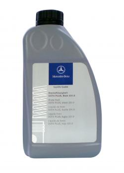 Гальмівна рідина Mercedes-Benz Brake Fluid DOT-4 Plus 331.0 MB 1 л (A000989080713)