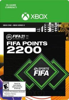 Поповнення рахунку ігри Xbox One FIFA 21 на 2200 FUT очок (Xbox One)