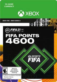 Поповнення рахунку ігри Xbox One FIFA 21 на 4600 FUT очок (Xbox One)