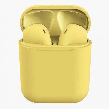 Беспроводные наушники TWS inPods12 Macaron Touch Sensor + PopUp Yellow