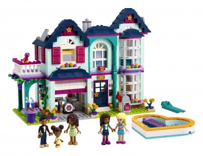 Конструктор LEGO Friends Семейный дом Андреа 802 детали (41449)