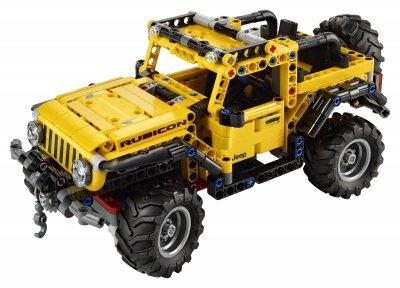 Конструктор LEGO Technic Jeep Wrangler 665 деталей (42122)