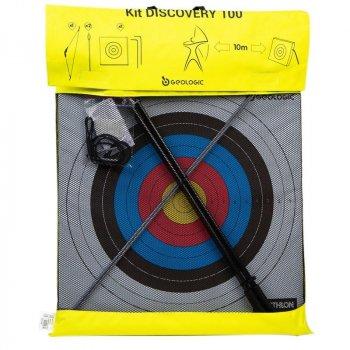 Набор для стрельбы из лука GEOLOGIC (1 лук + 2 стрелы с присосками + 1 мишень) 8505628