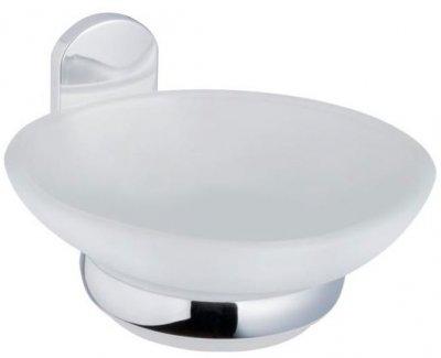Мыльница BISK Vigo 07677 белое матовое стекло