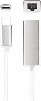 Адаптер XoKo USB 2.0 Type-C - Ethernet 100 Mbit/s (AC-300)