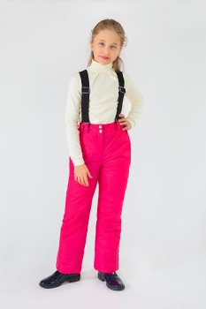 Полукомбинезон Модный карапуз Малиновый (03-00670-0) (Для девочек)