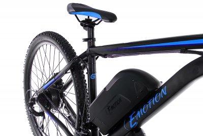 """Електровелосипед E-motion MTB 29"""" GT 48V 15Ah 500W / рама 19"""" чорно-синій (EMTB2754815500-BB)"""