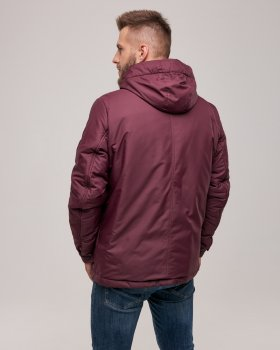 Куртка Riccardo NY Бордовая