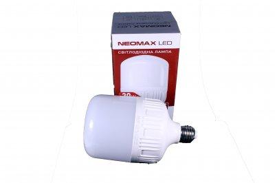 Світлодіодна LED лампочка NeoMax 30 Ват NX30L E27 6000K Driver IC (t091)